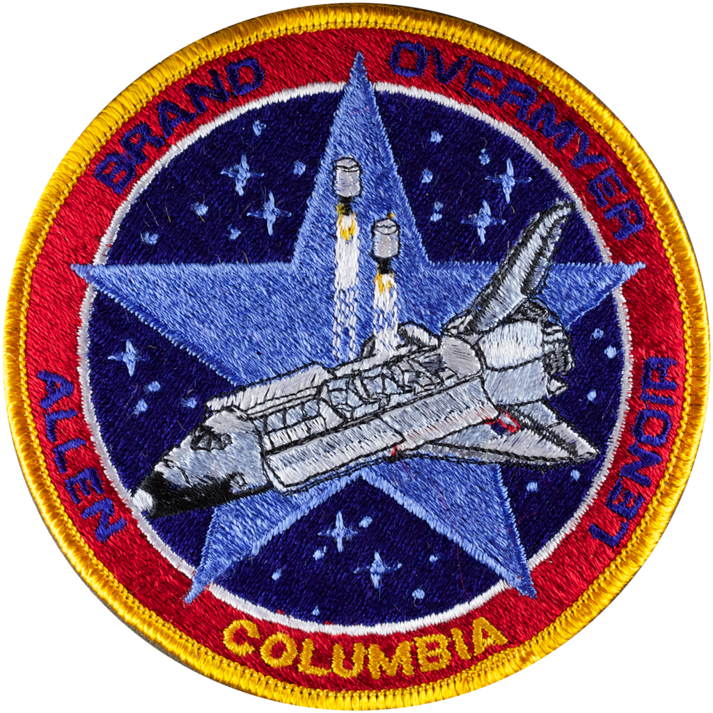 STS-5 - Space Patches