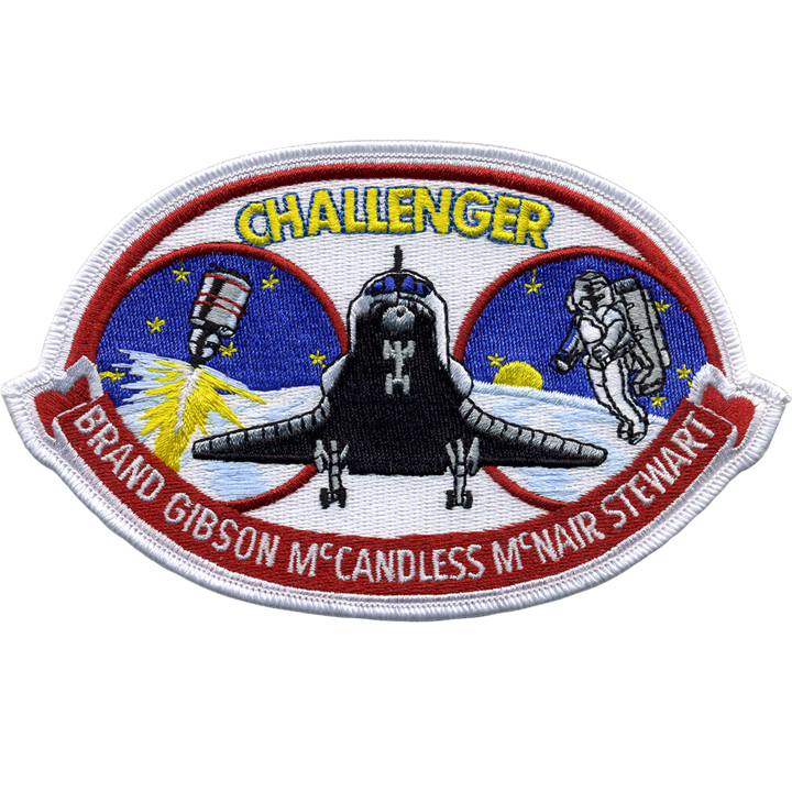 STS-41B - Space Patches