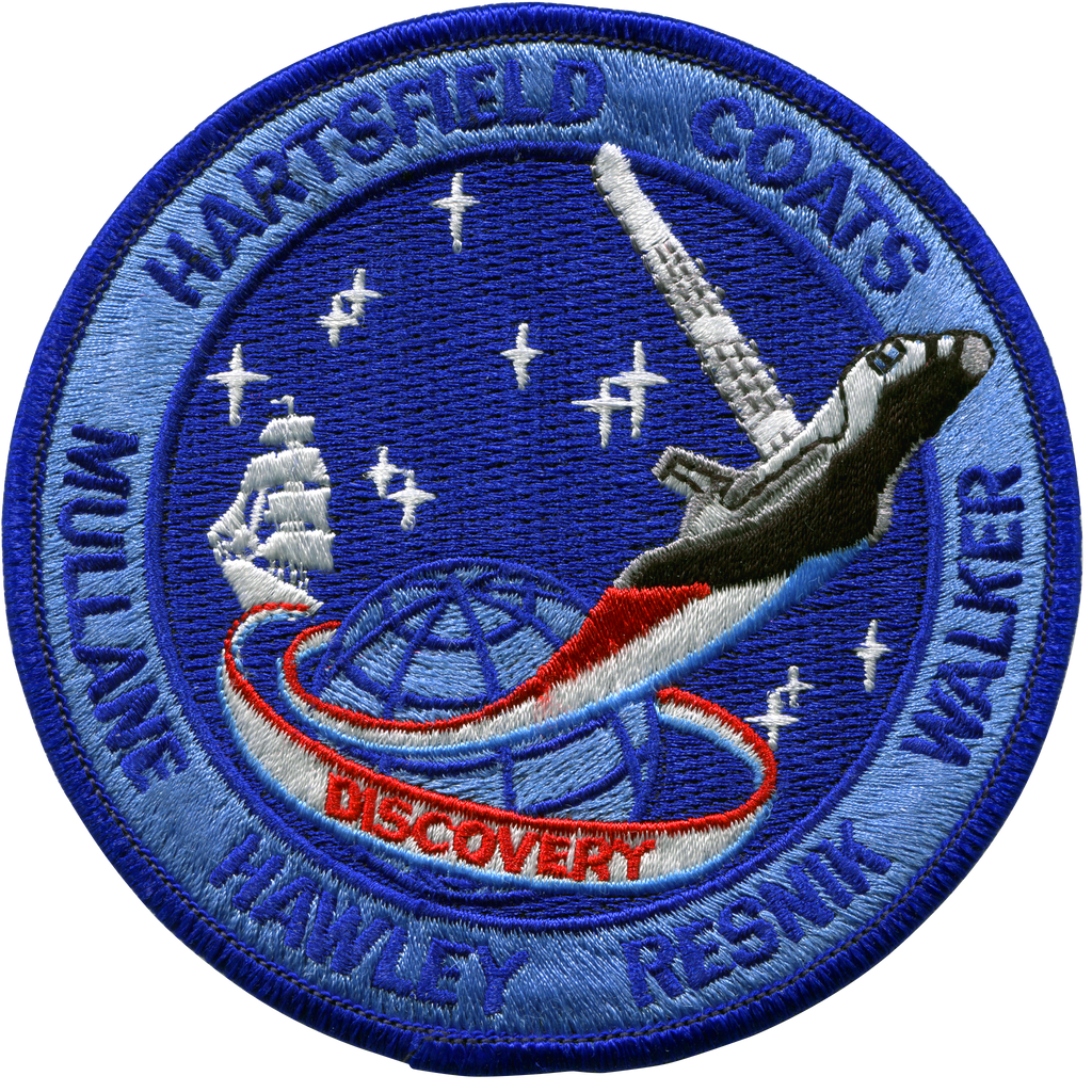 STS-41D - Space Patches