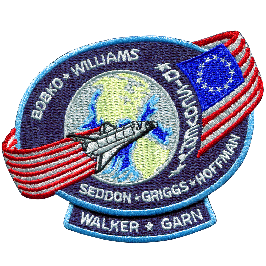 STS-51D - Space Patches