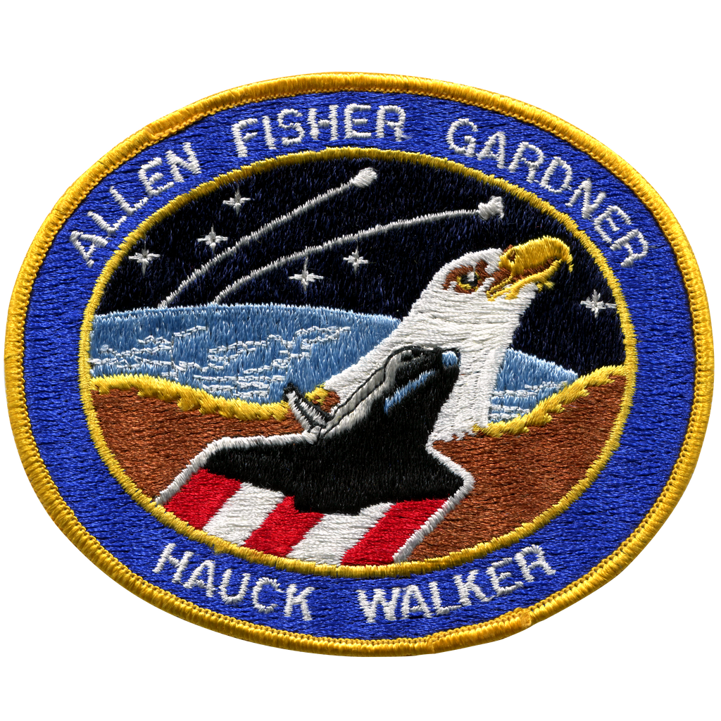 STS-51A - Space Patches