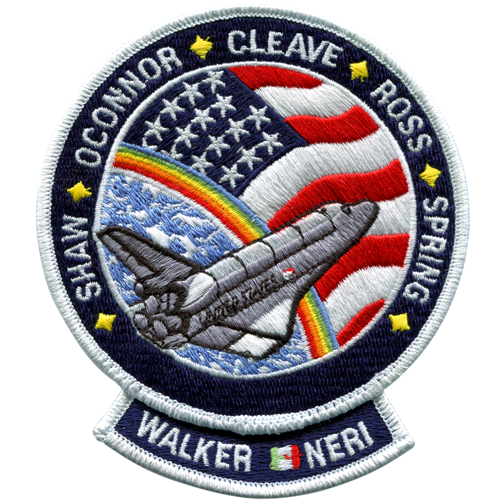 STS-61B - Space Patches