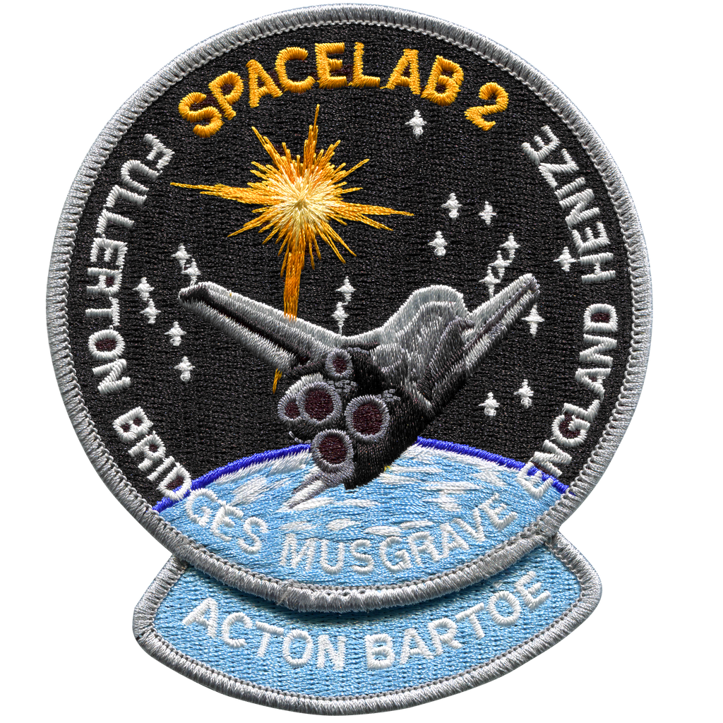 STS-51F - Space Patches