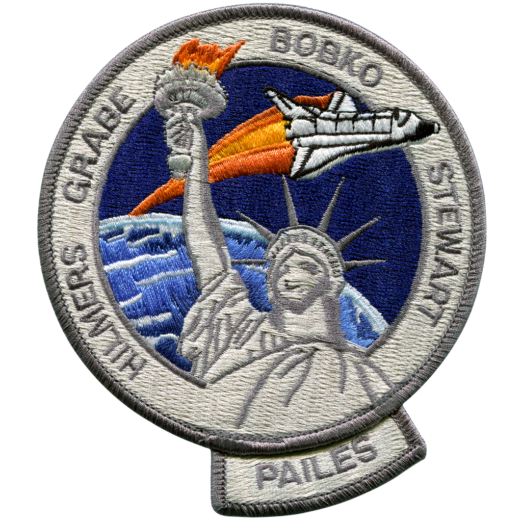 STS-51J - Space Patches