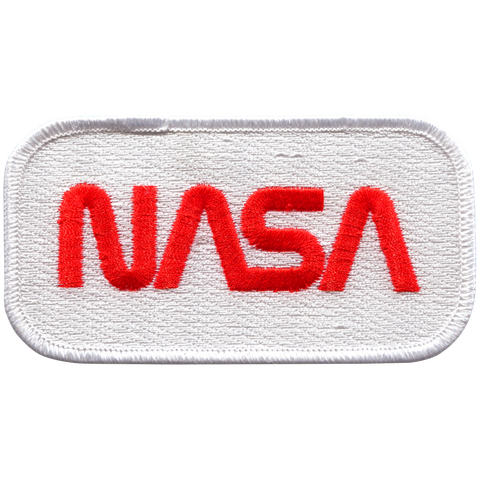 NASA Worm  Embroidered