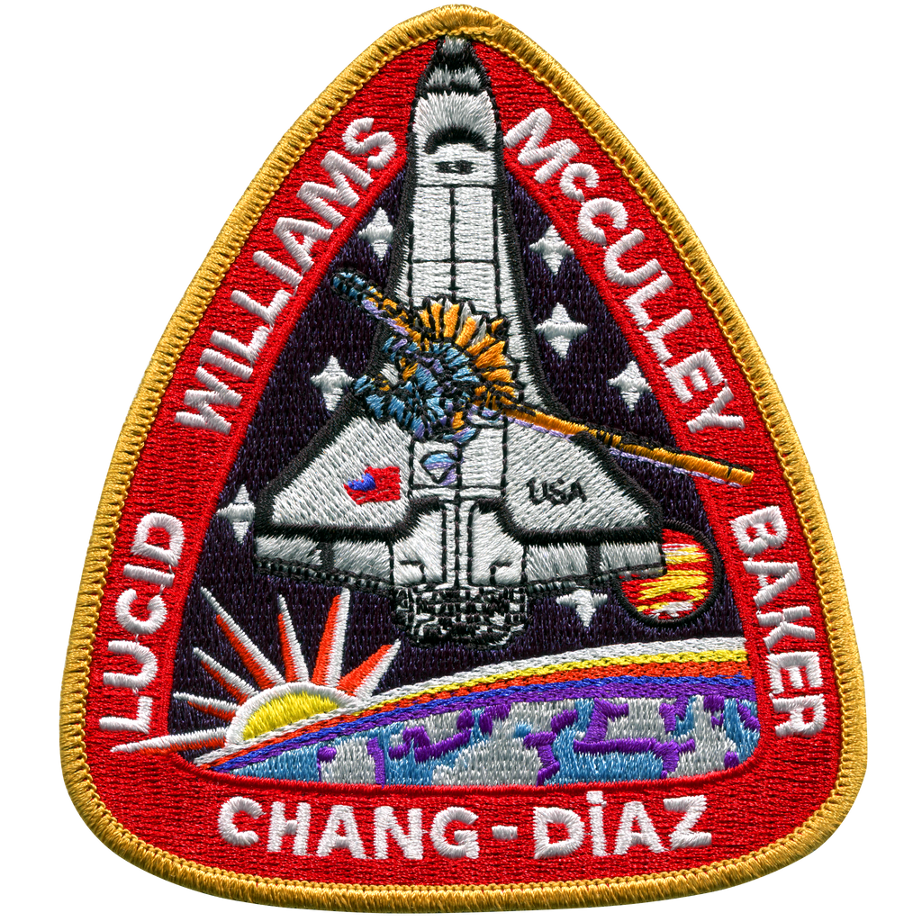 STS-34 - Space Patches
