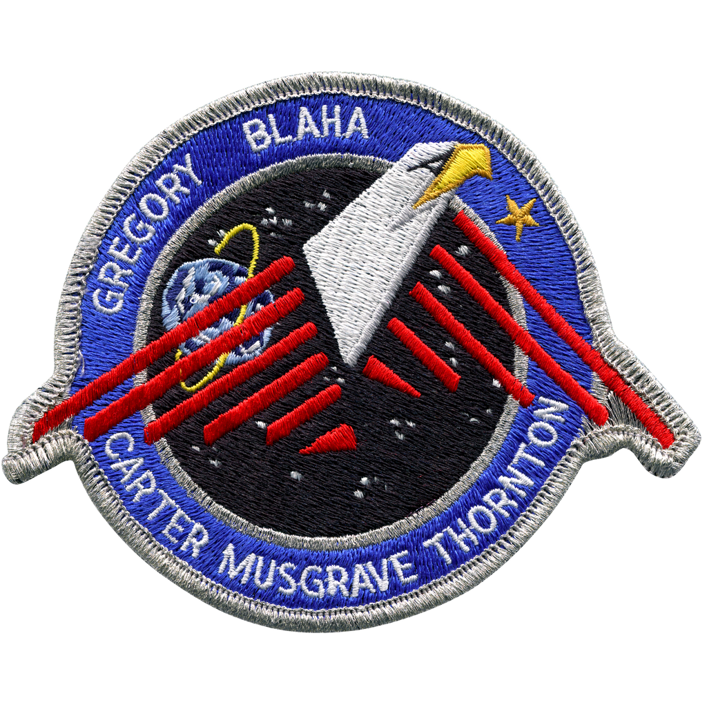 STS-33 - Space Patches