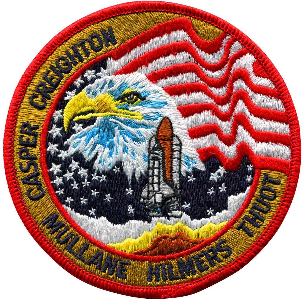 STS-36 - Space Patches
