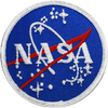 NASA Meatball w/Velcro - Space Patches