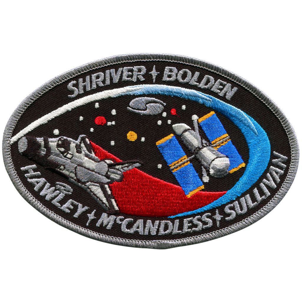 STS-31 - Space Patches