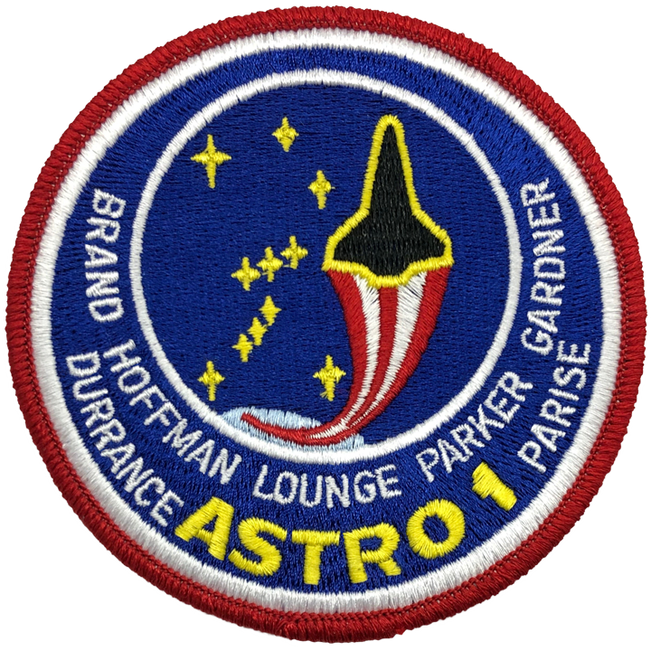 STS-35 - Space Patches