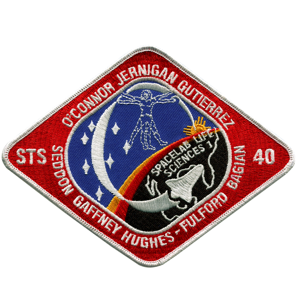 STS-40 - Space Patches