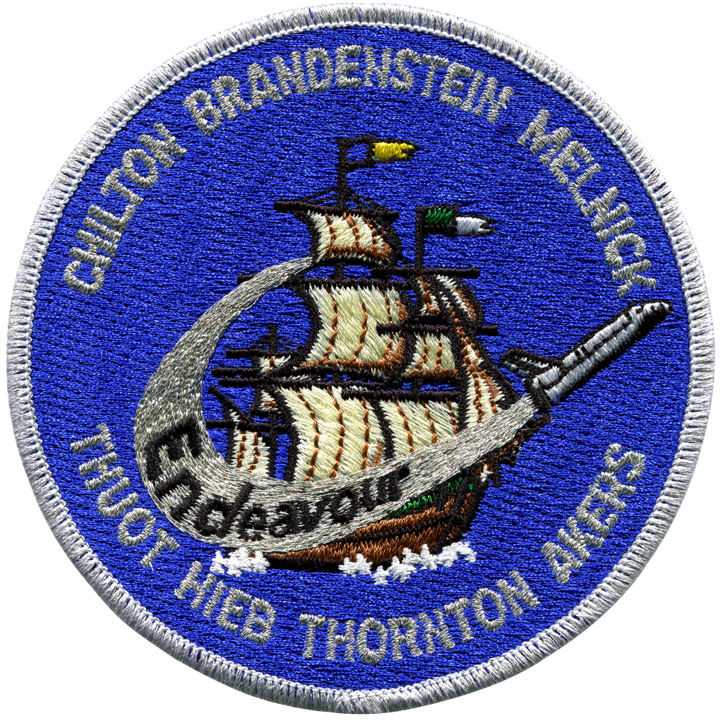 STS-49 - Space Patches