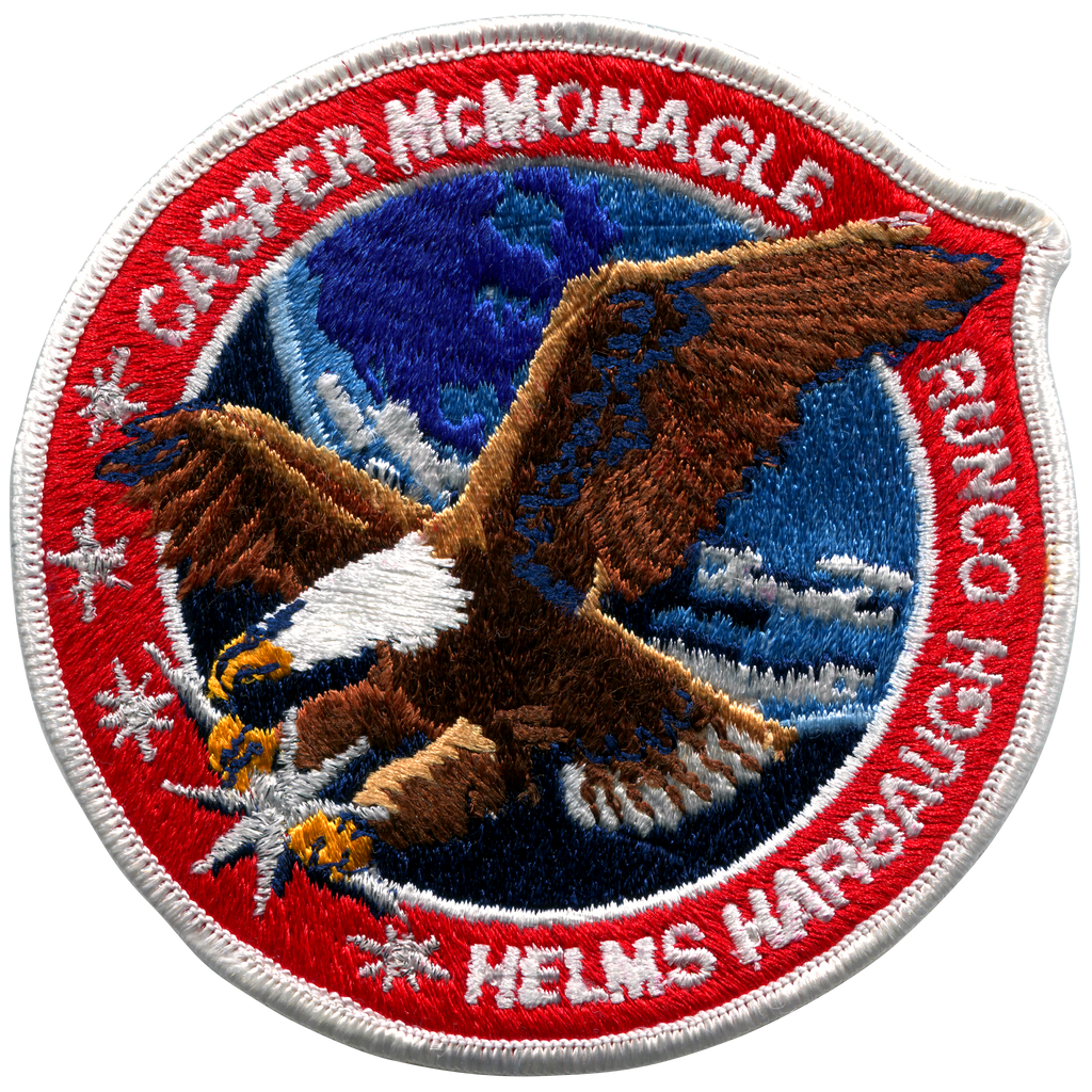 STS-54 - Space Patches
