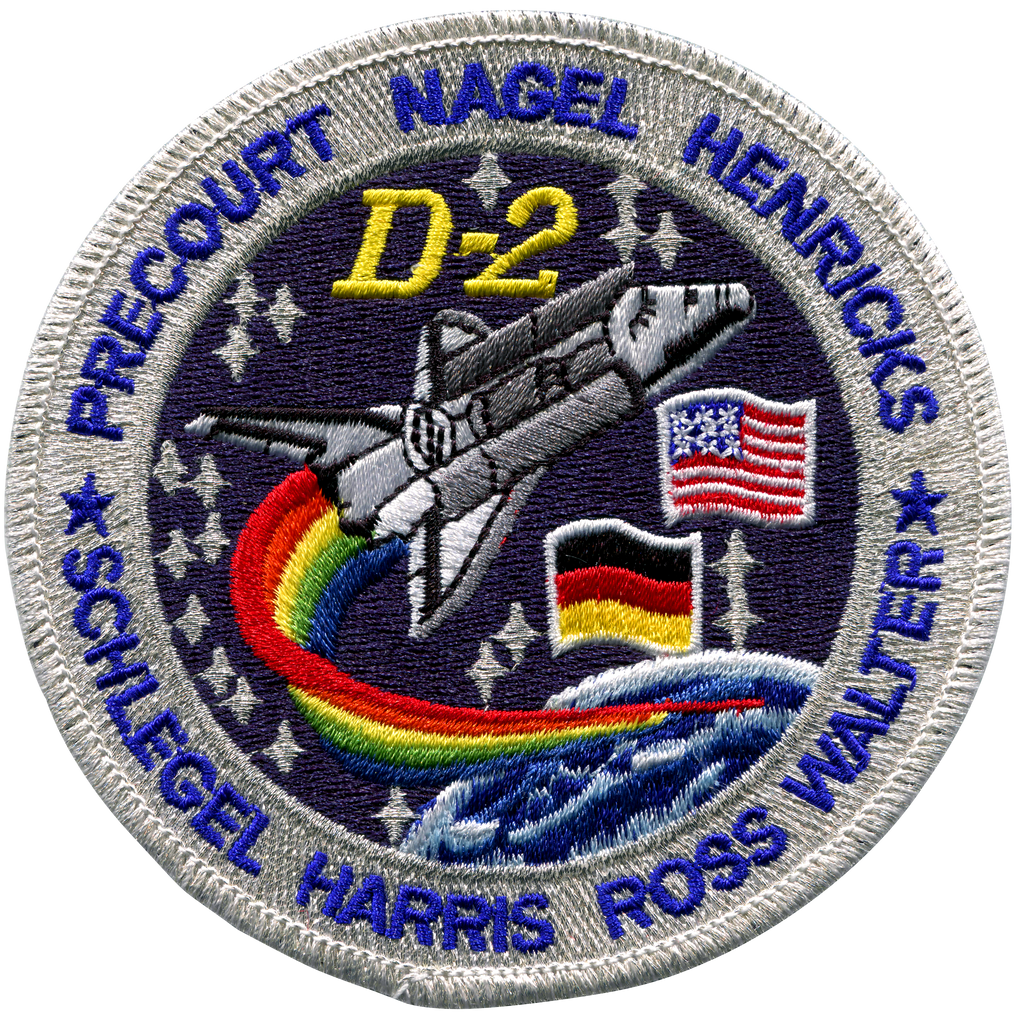 STS-55 - Space Patches
