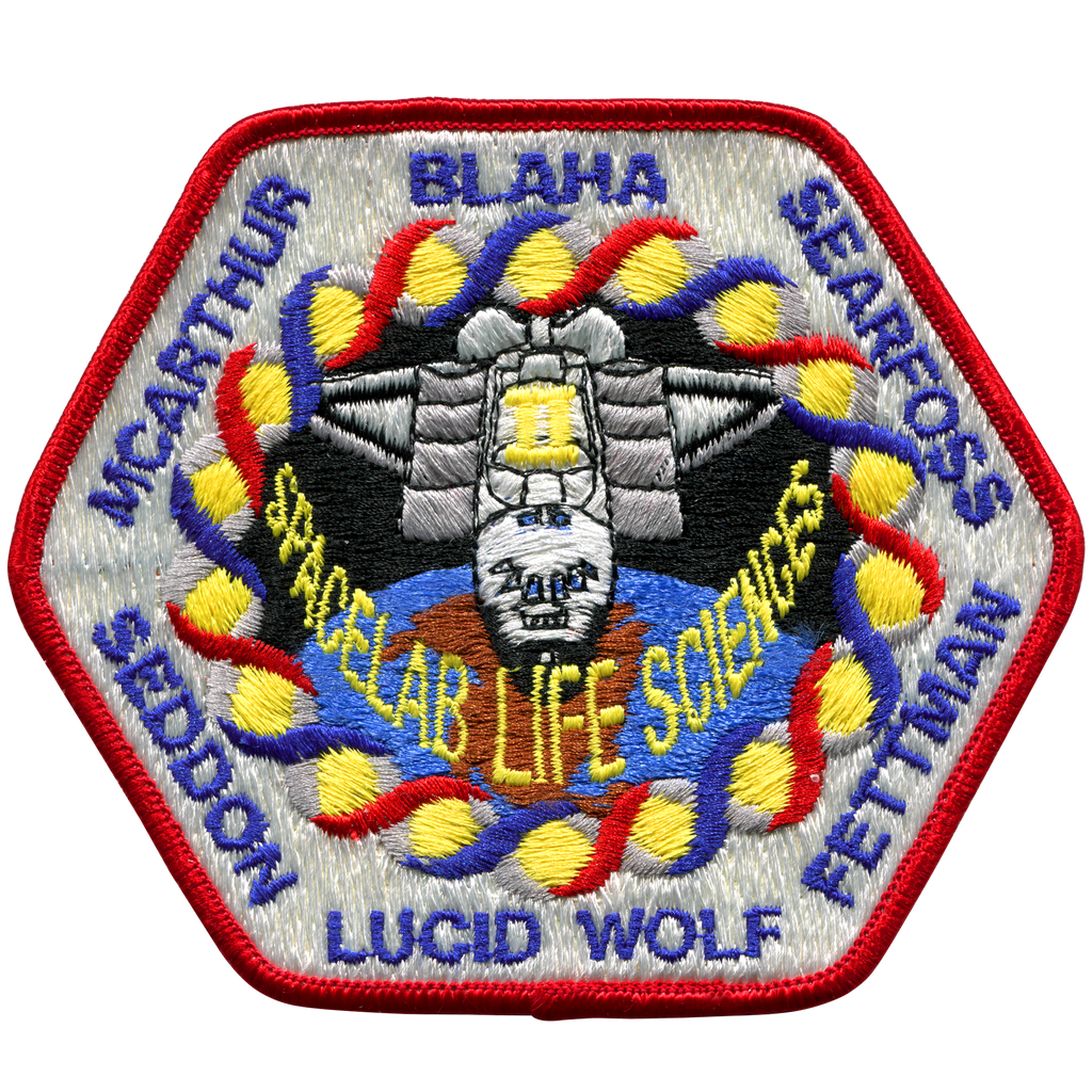 STS-58 - Space Patches