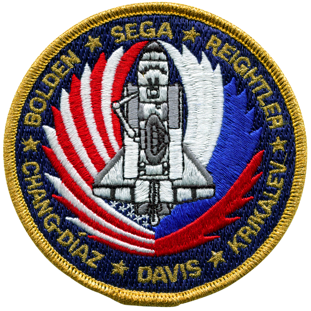 STS-60 - Space Patches