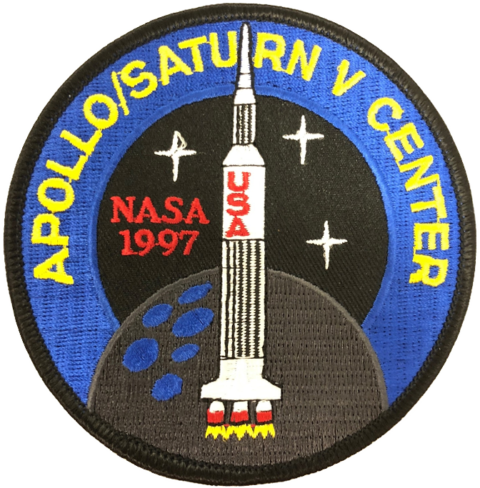 Apollo / Saturn V Center - Space Patches