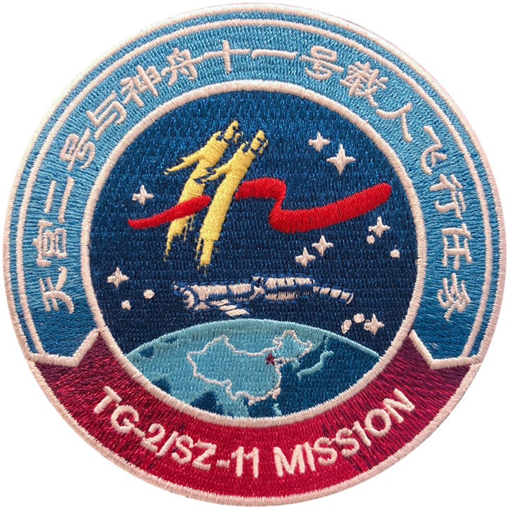 Shenzhou 11 - Space Patches
