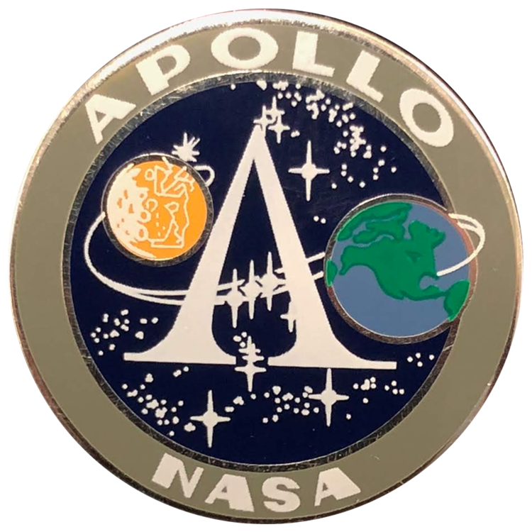 Apollo Pin Set - Space Patches