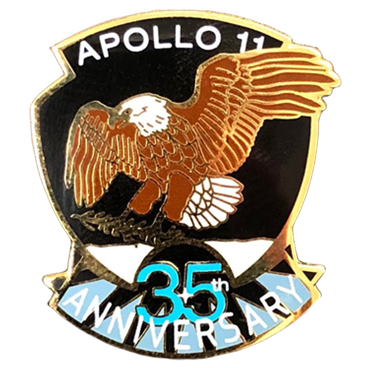 Apollo 11 — 35th Anniversary Pin - Space Patches