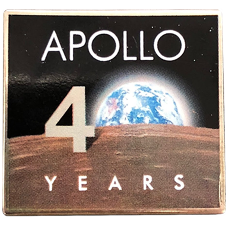 Apollo 11 — 40th Anniversary Pin - Space Patches