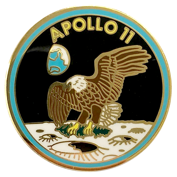 Apollo 11 Pin - Space Patches