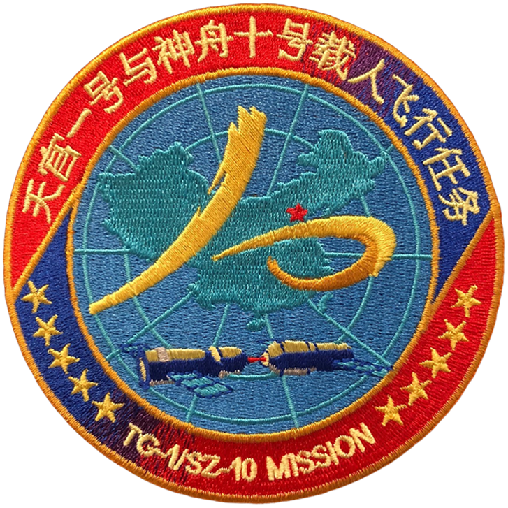 Shenzhou 10 - Space Patches