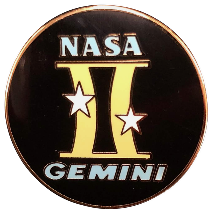 Gemini Pin Set - Space Patches