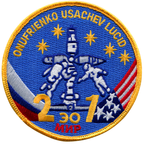 Mir 21 Crew Patch