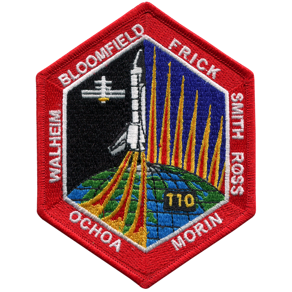 STS-110 - Space Patches
