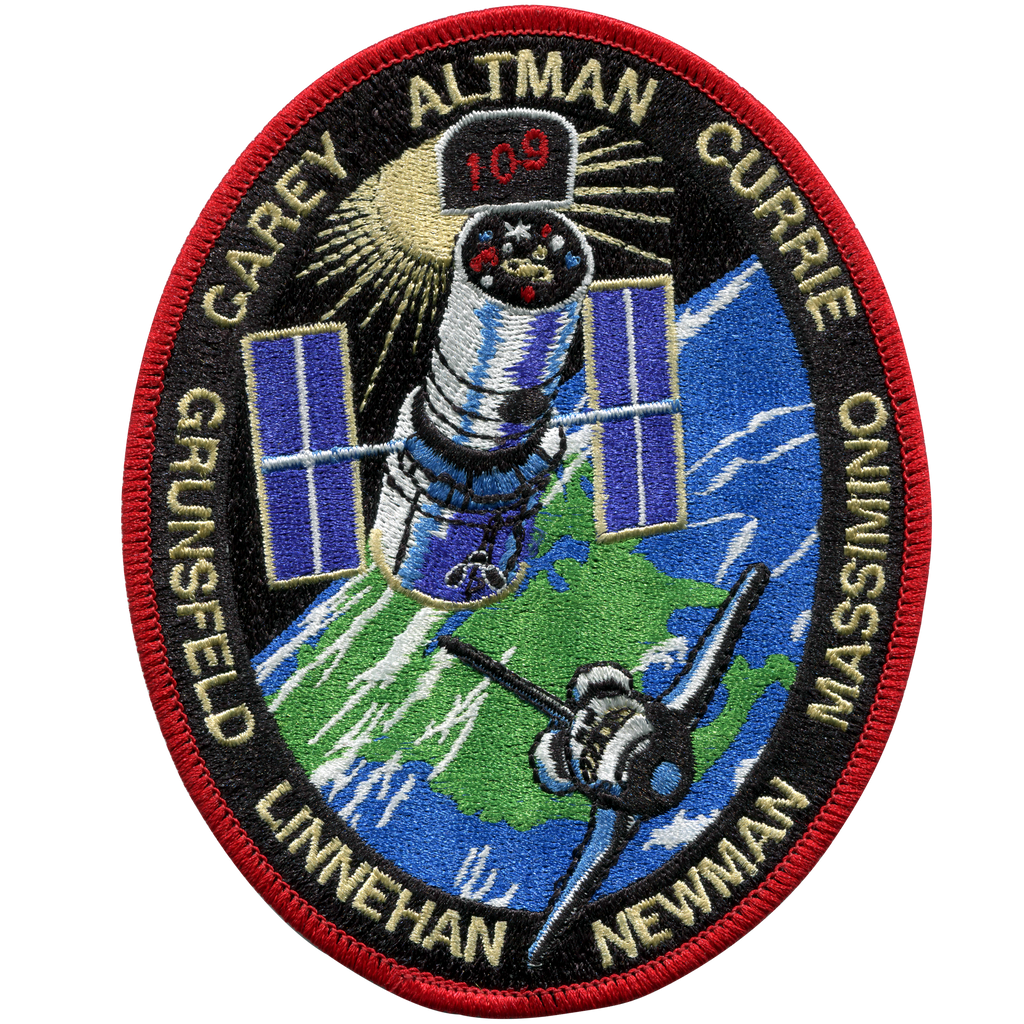 STS-109 - Space Patches