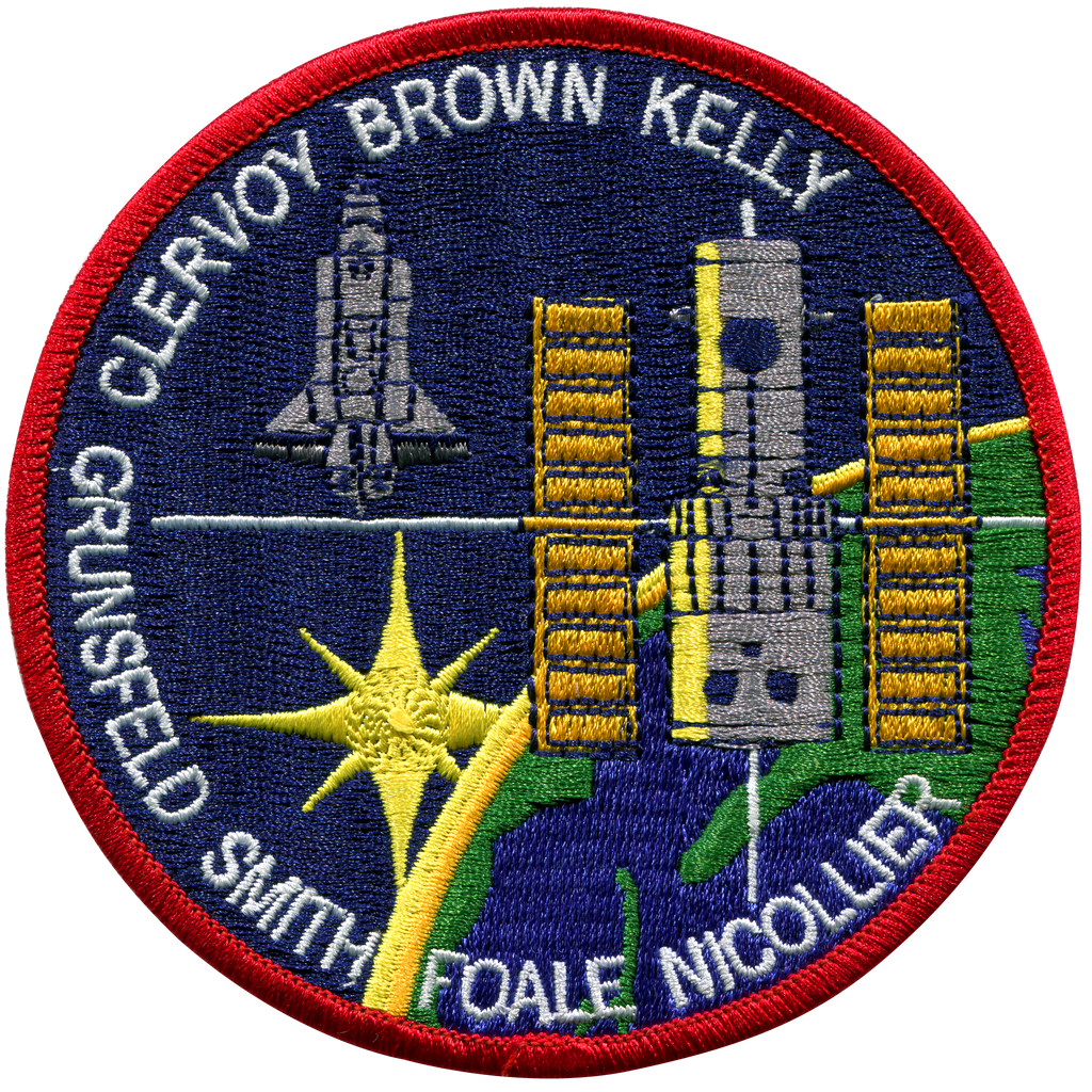 STS-103 - Space Patches