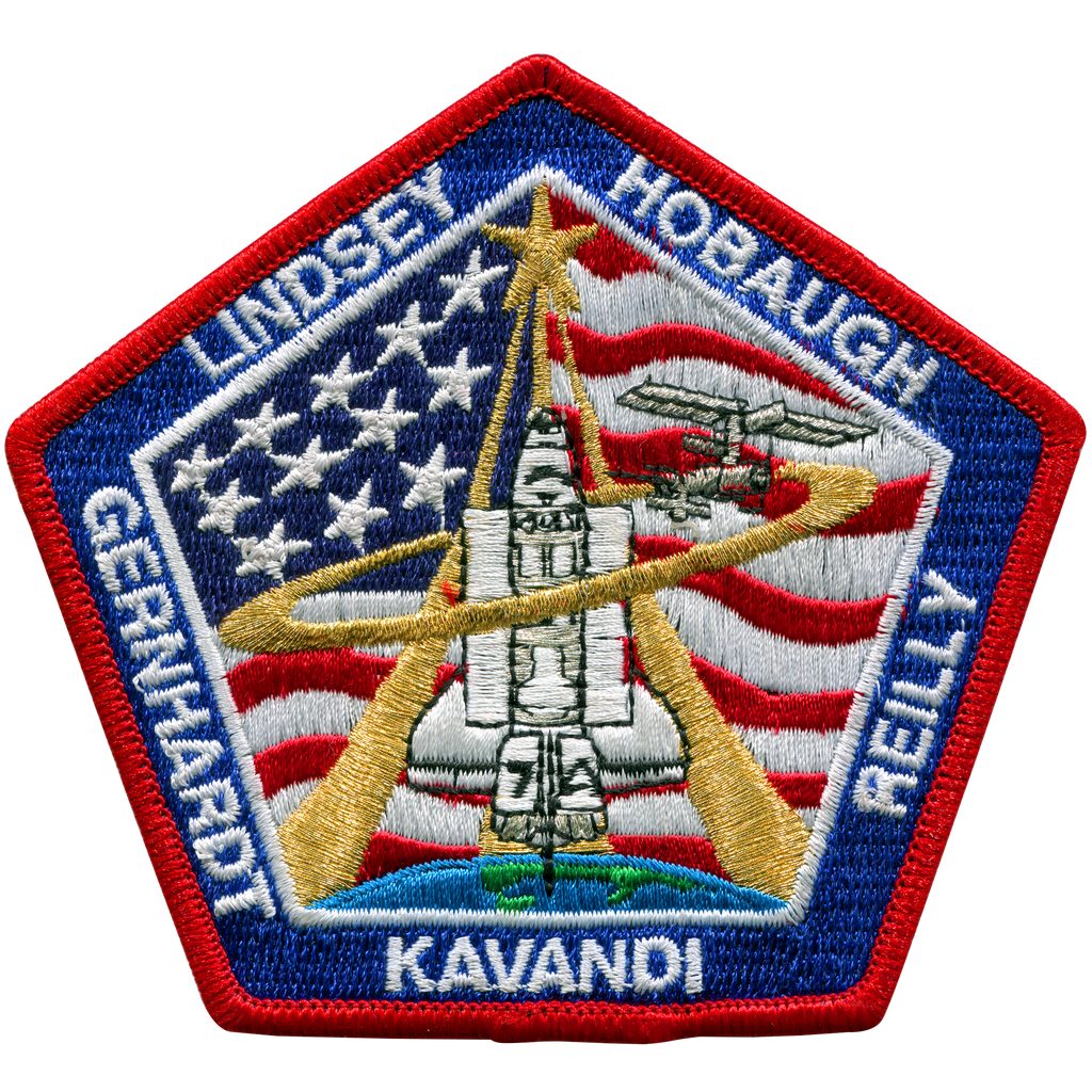 STS-104 - Space Patches