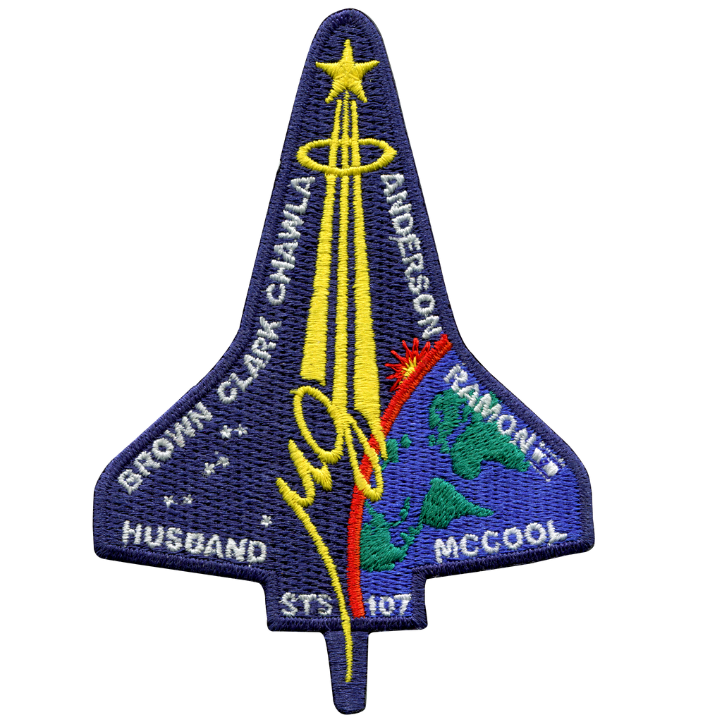 STS-107 - Space Patches