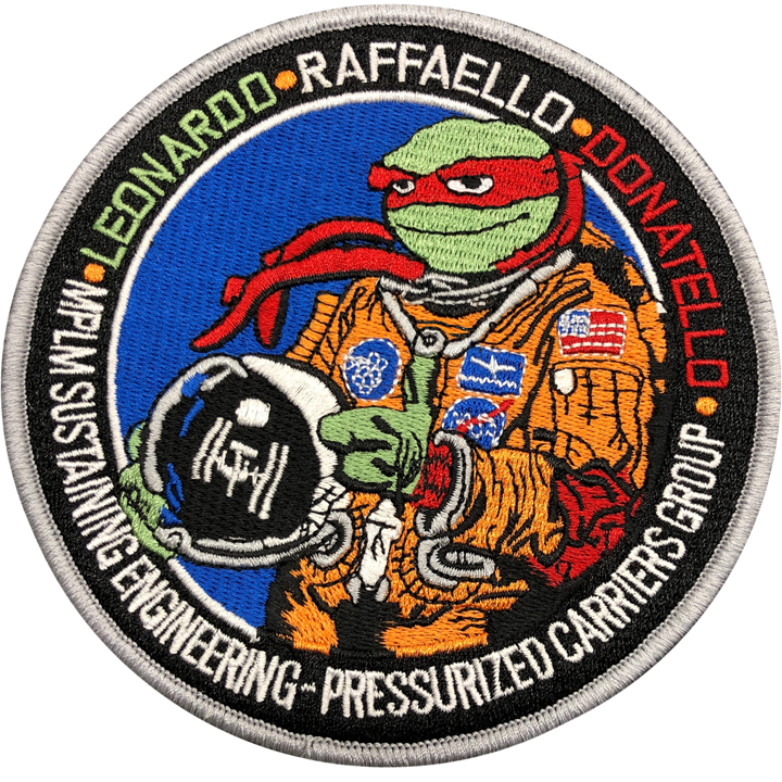 MPLM Sustaining Engineering V2 - Space Patches