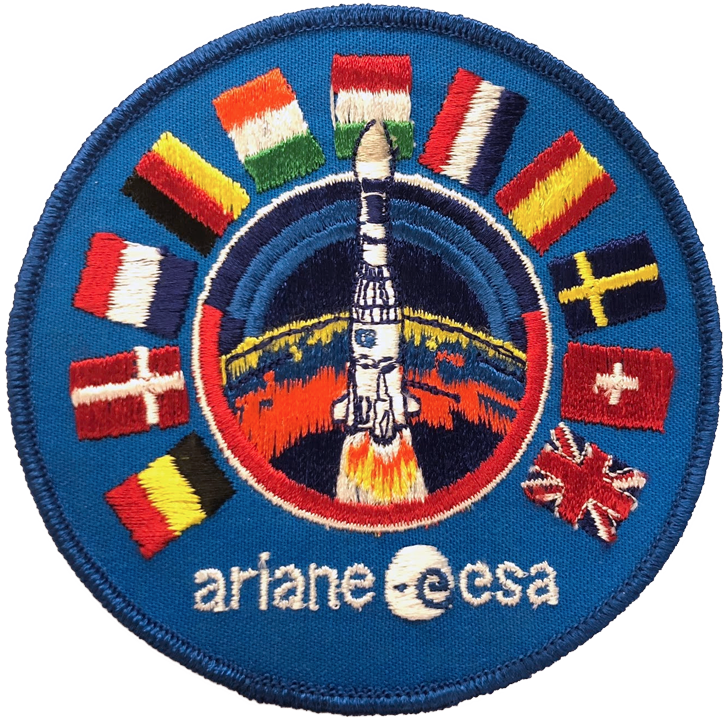 Ariane ESA - Space Patches