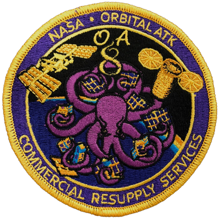 CRS OA 8 - Space Patches