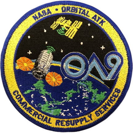CRS OA 9 - Space Patches