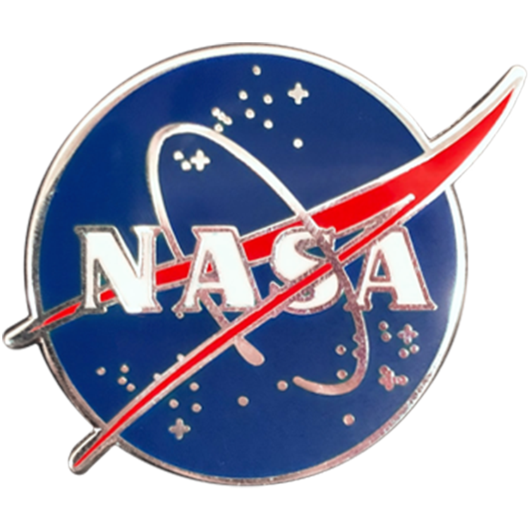 NASA Vector Pin - Space Patches
