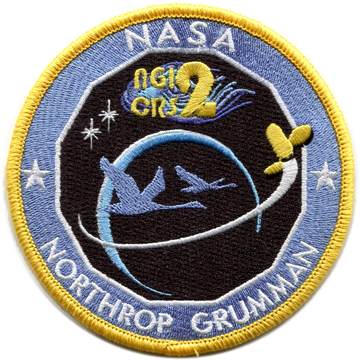 CRS NG-12 - Space Patches