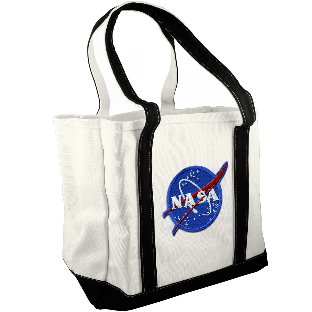 NASA Canvas Tote - Space Patches