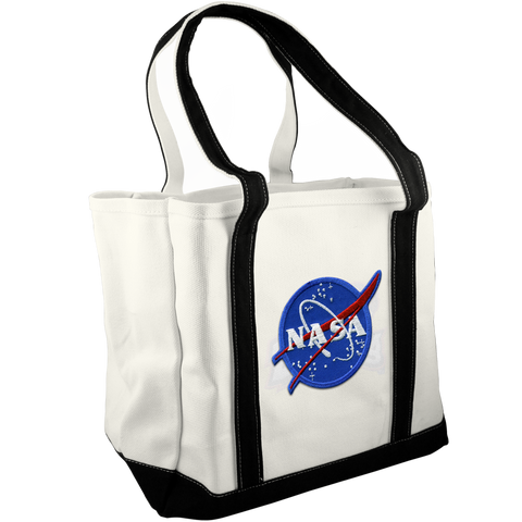 NASA Canvas Tote