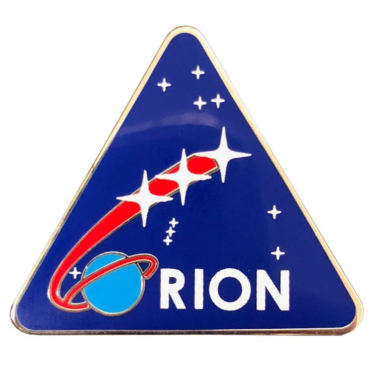 Orion Pin - Space Patches