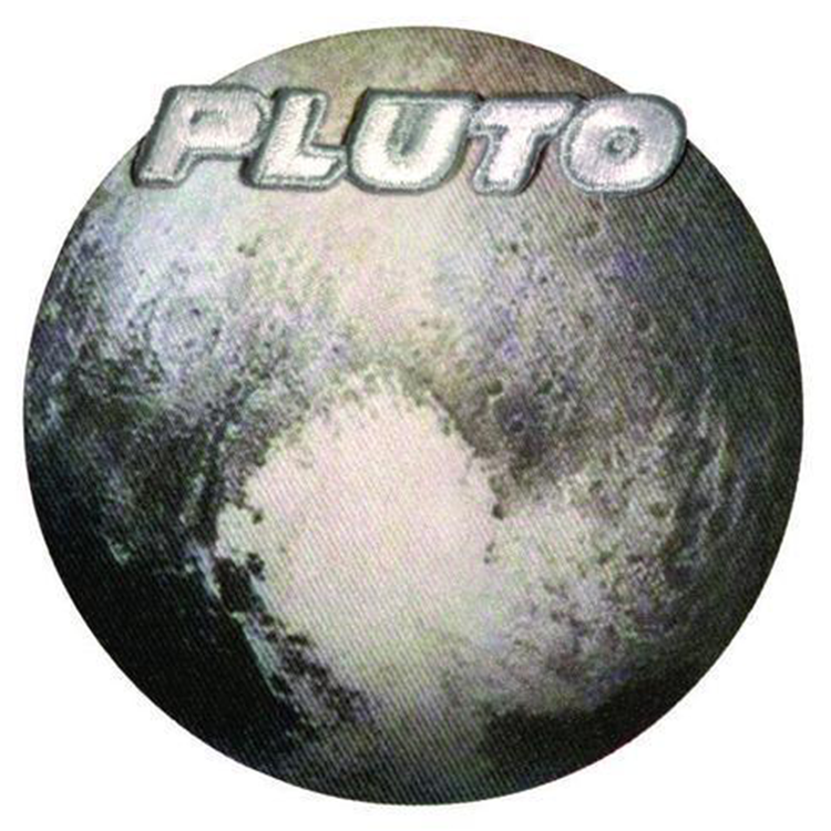 Pluto - Space Patches