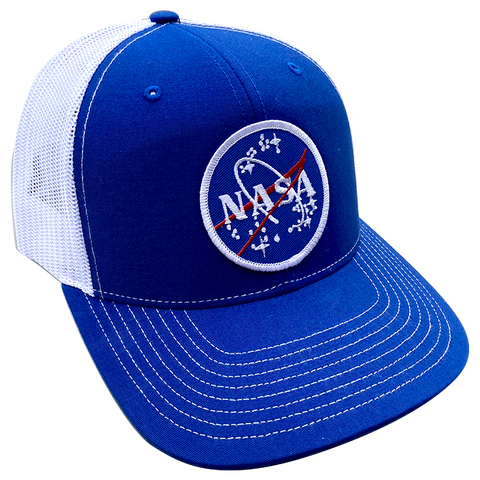 NASA Meatball 6-panel Trucker Cap