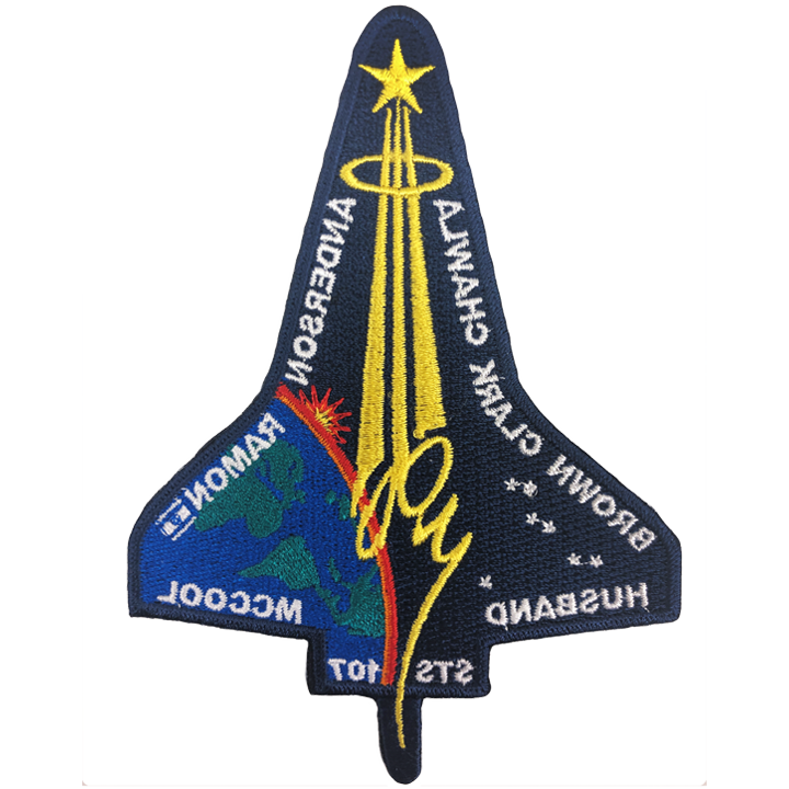 STS-107  (Mfg. Error) - Space Patches