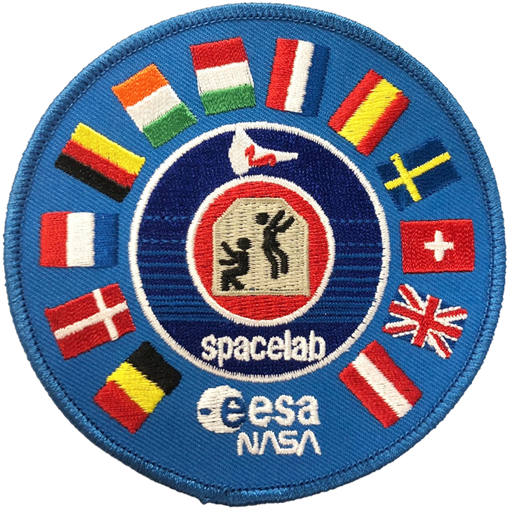 Spacelab ESA - Space Patches