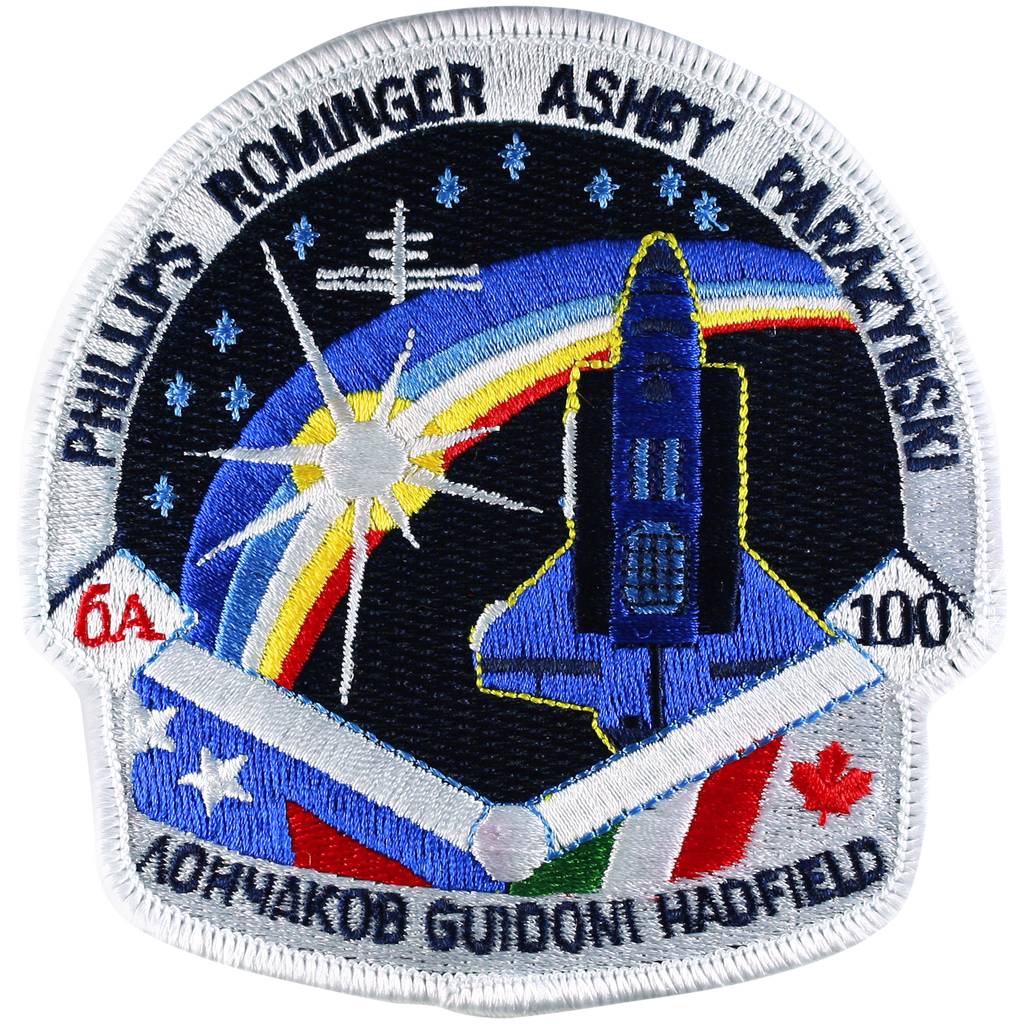 STS-100 - Space Patches