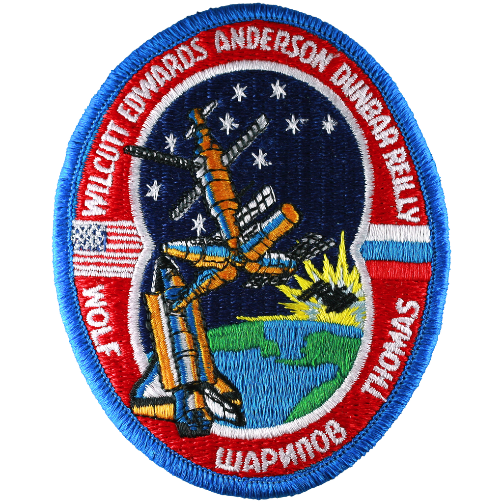 STS-89 - Space Patches